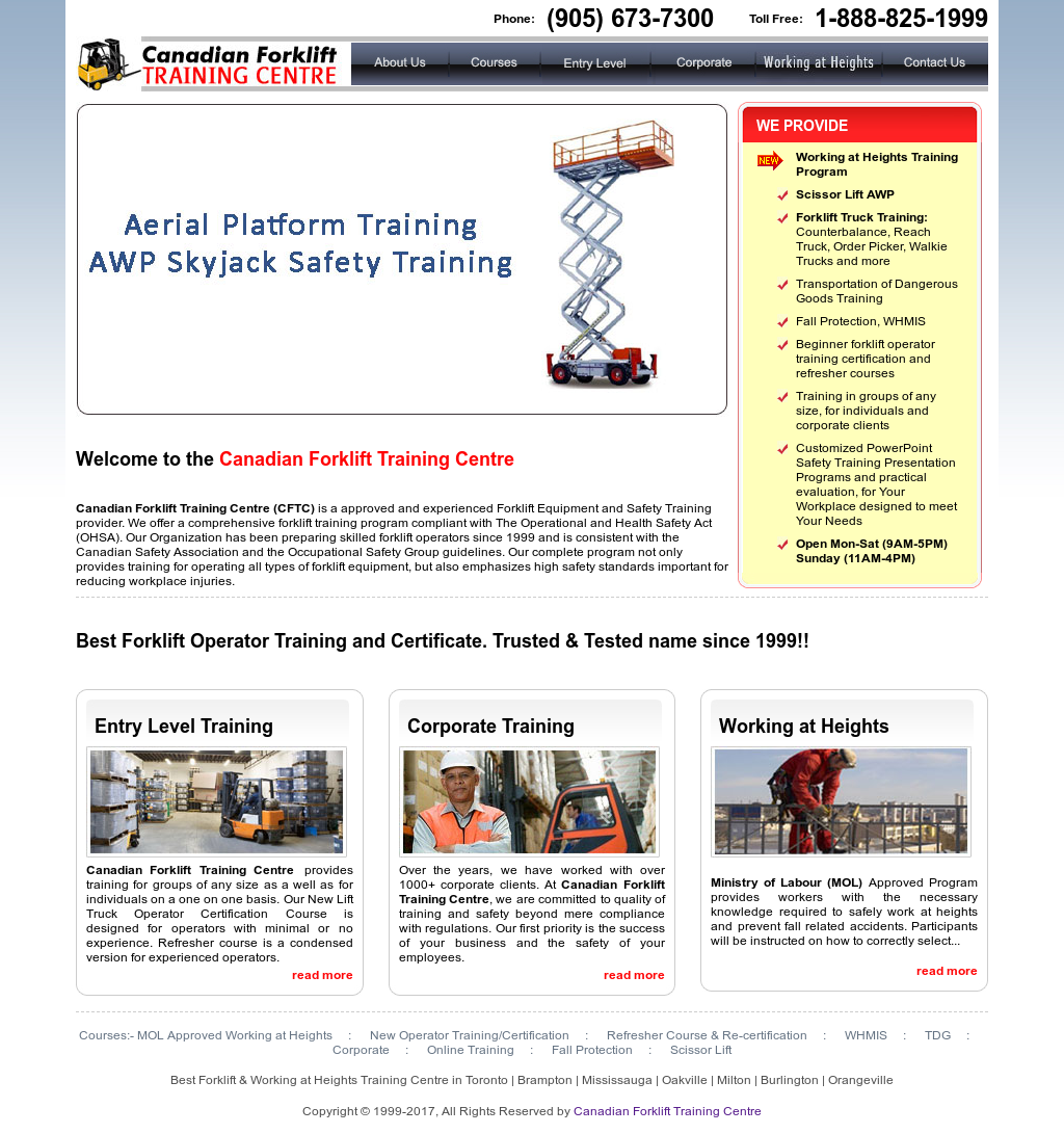 Canadian Forklift Training Centre Competitors Revenue And Employees