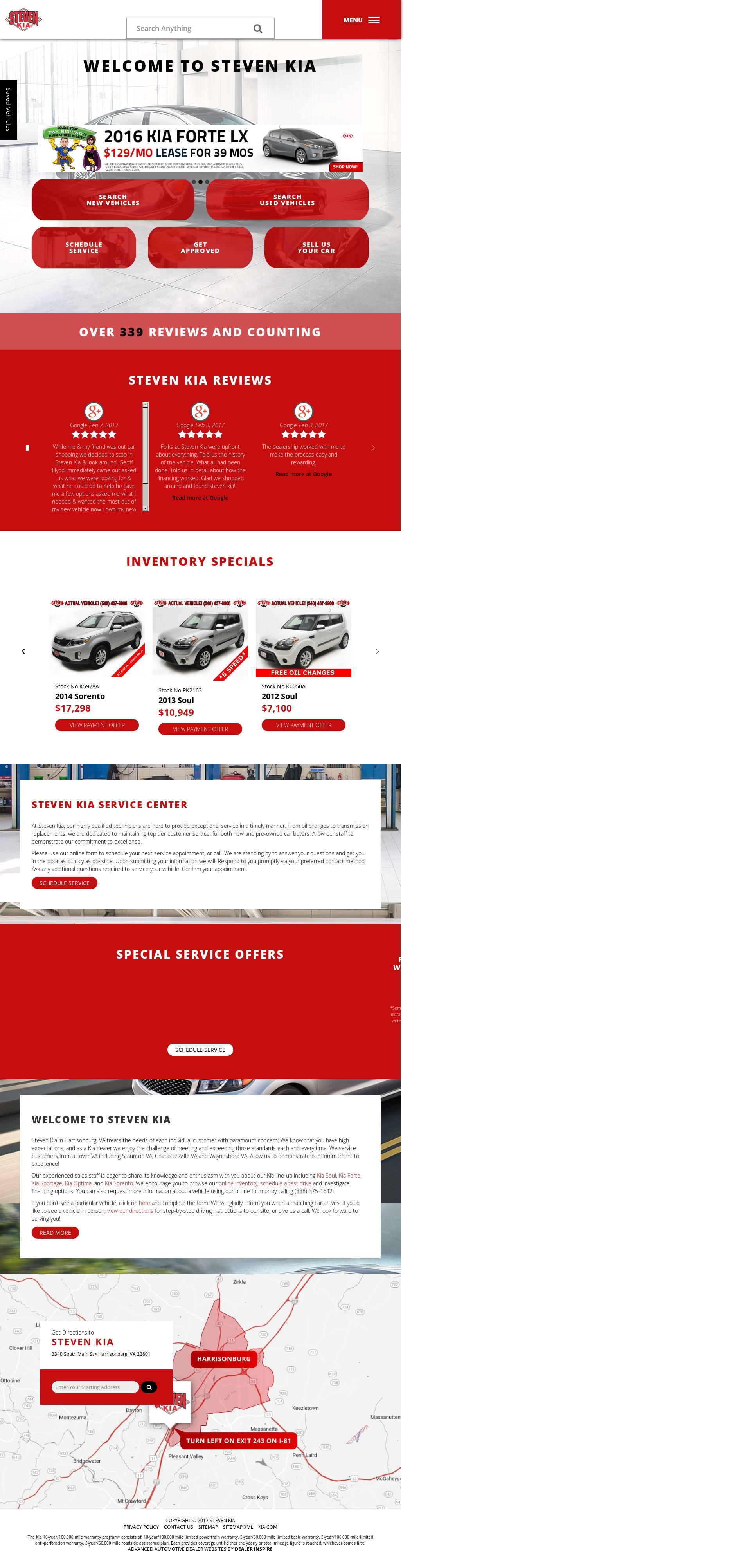 Steven Kia Competitors, Revenue And Employees   Owler Company Profile