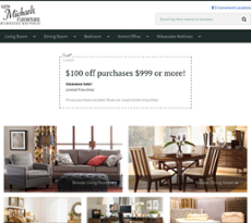 Ken Michaels Furniture Website History