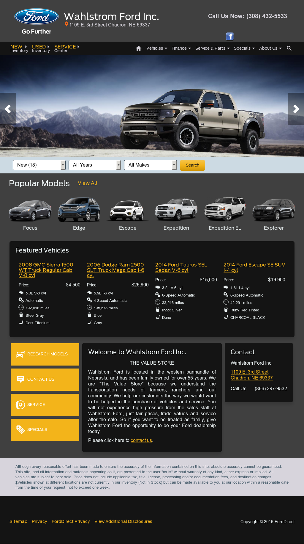 Wahlstrom Ford Competitors Revenue And Employees Owler Company 2014 Dodge Ram 1500 Sel Profile