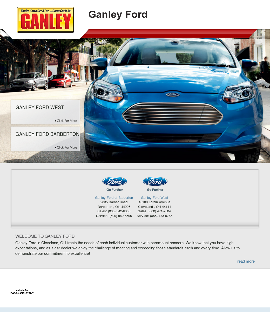 Ganley Ford Barberton >> Ganley Ford Competitors Revenue And Employees Owler