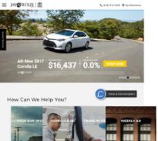 Jay Wolfe Toyota Website History