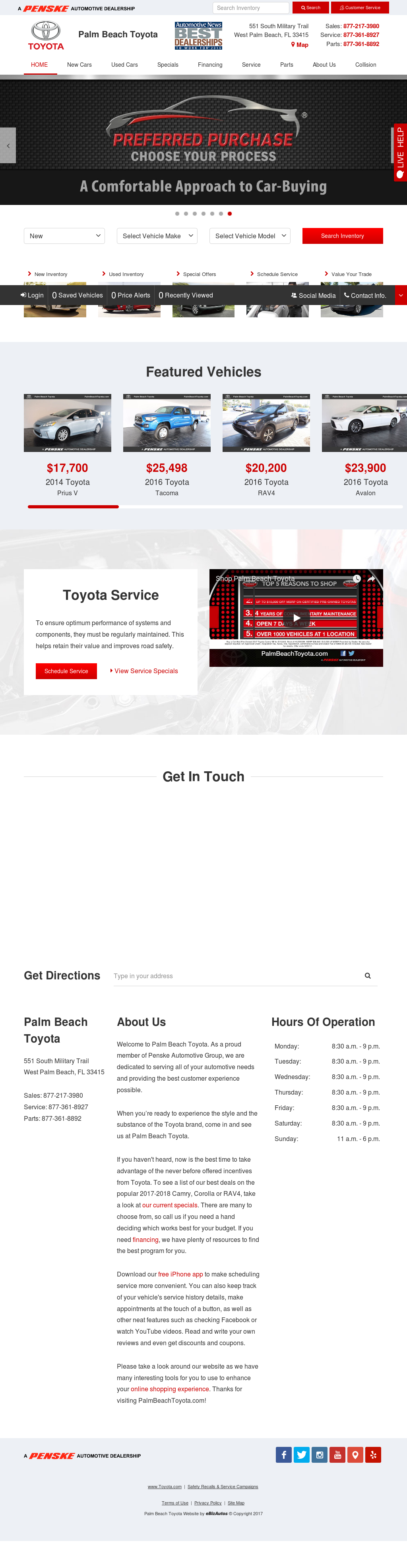 Palm Beach Toyota petitors Revenue and Employees Owler pany