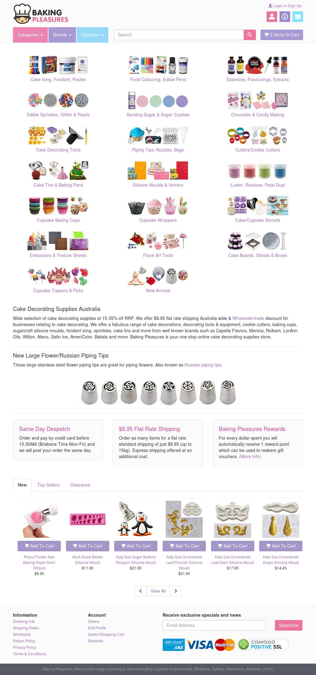 Bakingpleasures - Baking Supplies And Cake Decorating