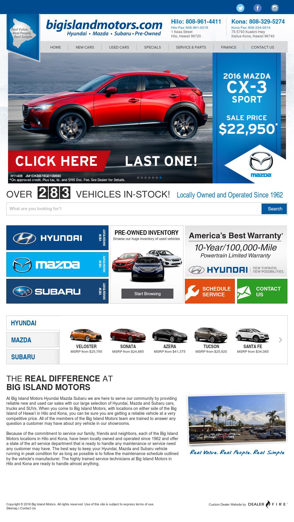 Big Island Motors >> Big Island Motors Competitors Revenue And Employees Owler