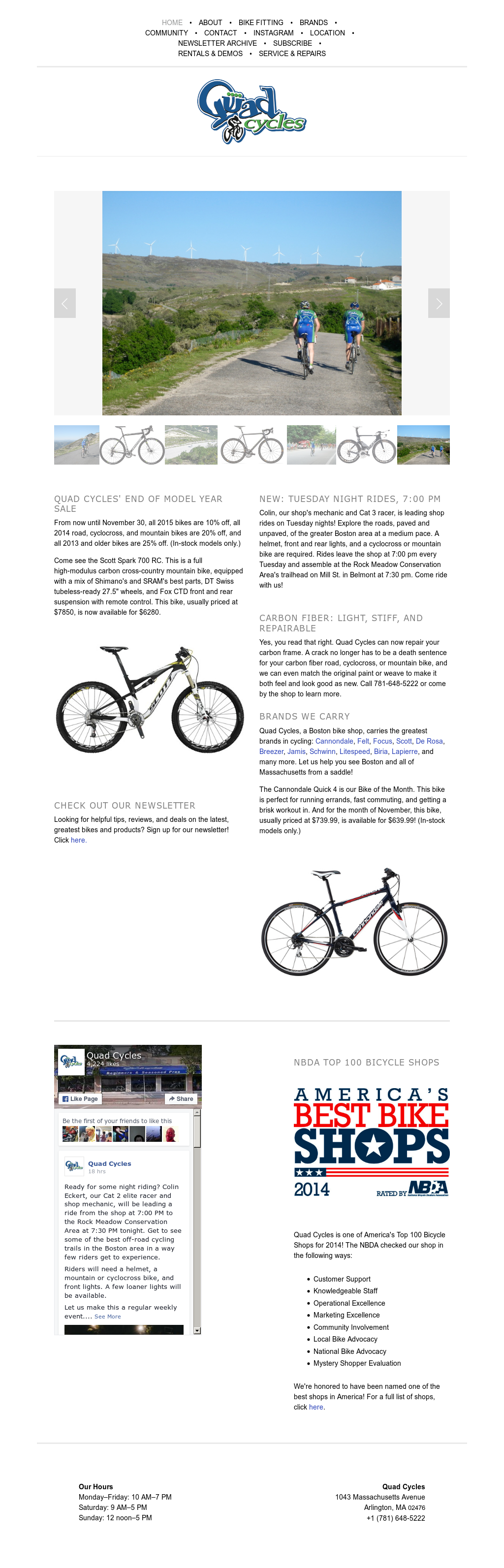 Quad Cycles Competitors, Revenue and Employees - Owler