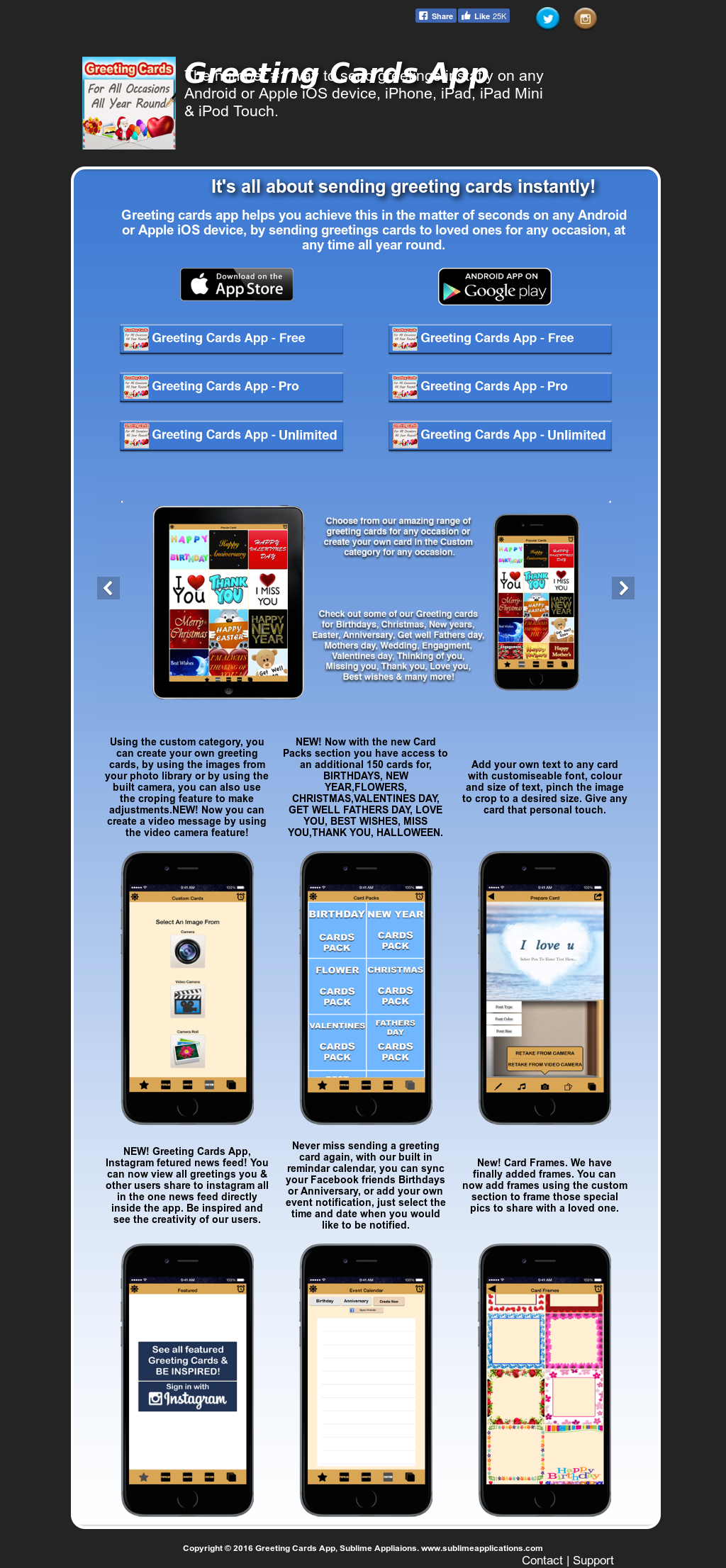 Greeting Cards App Free Competitors Revenue And Employees Owler