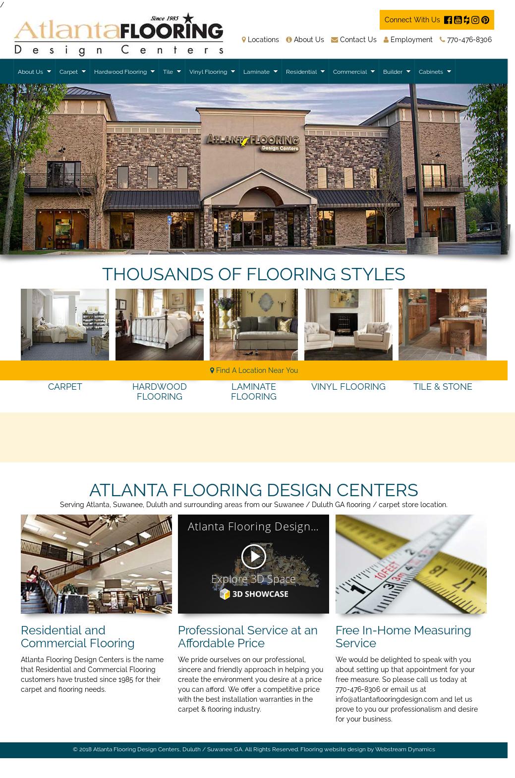 Atlanta Flooring Design Center Competitors Revenue And Employees