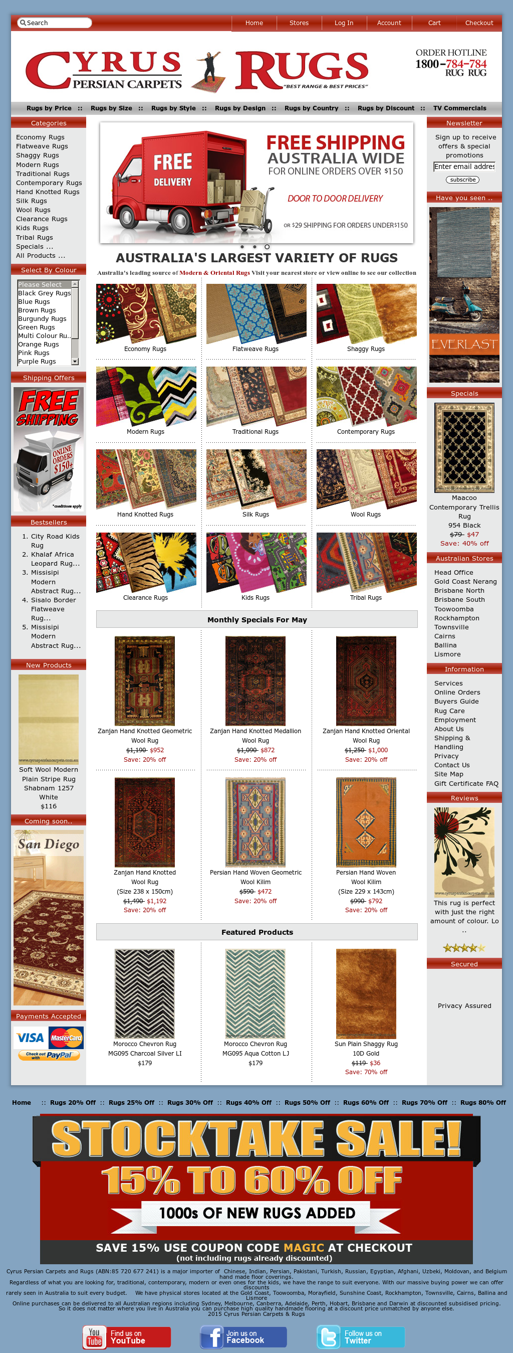 Cyrus Persian Carpets And Rugs Website History