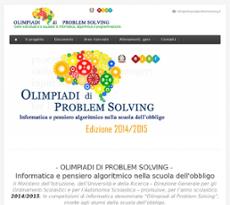 olimpiadi problem solving classifiche 2015