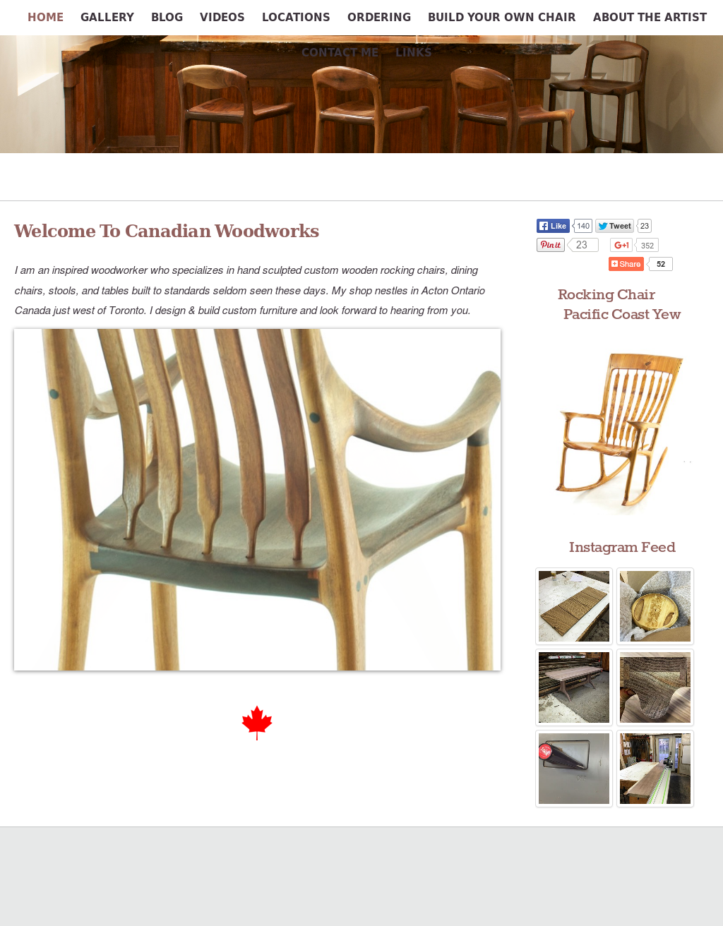 Ideas About Canadian Woodworker Rocking Chair