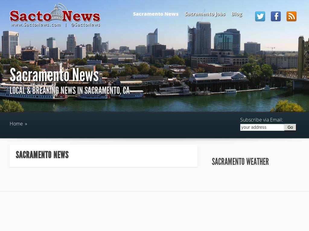 Sactonews Breaking News In Sacramento Ca Competitors Revenue And