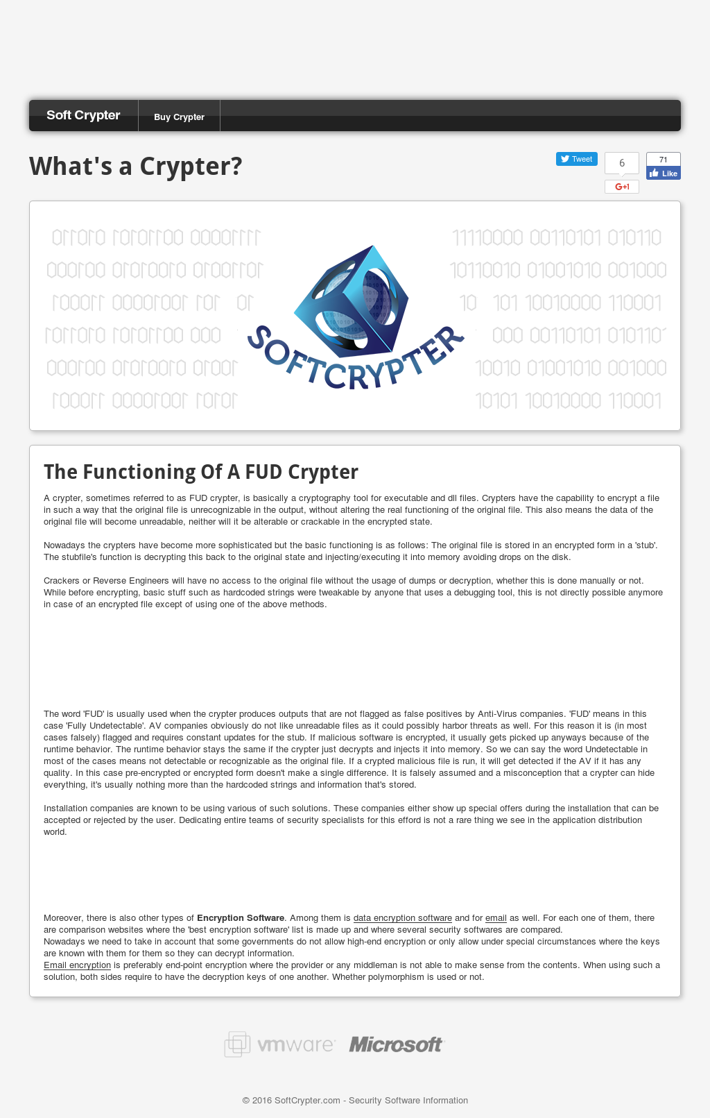 Soft Crypter Competitors, Revenue and Employees - Owler Company Profile