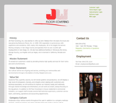 Superior JW Floor Covering Website History
