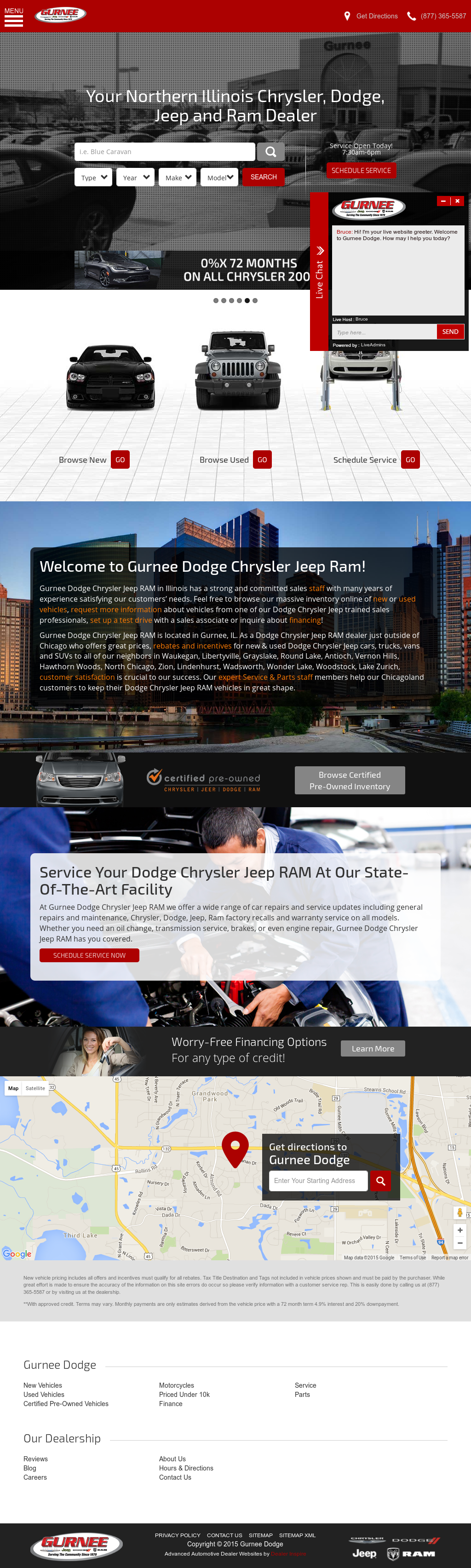 Gurnee Dodge Chrysler Jeep RAM Competitors, Revenue And Employees   Owler  Company Profile