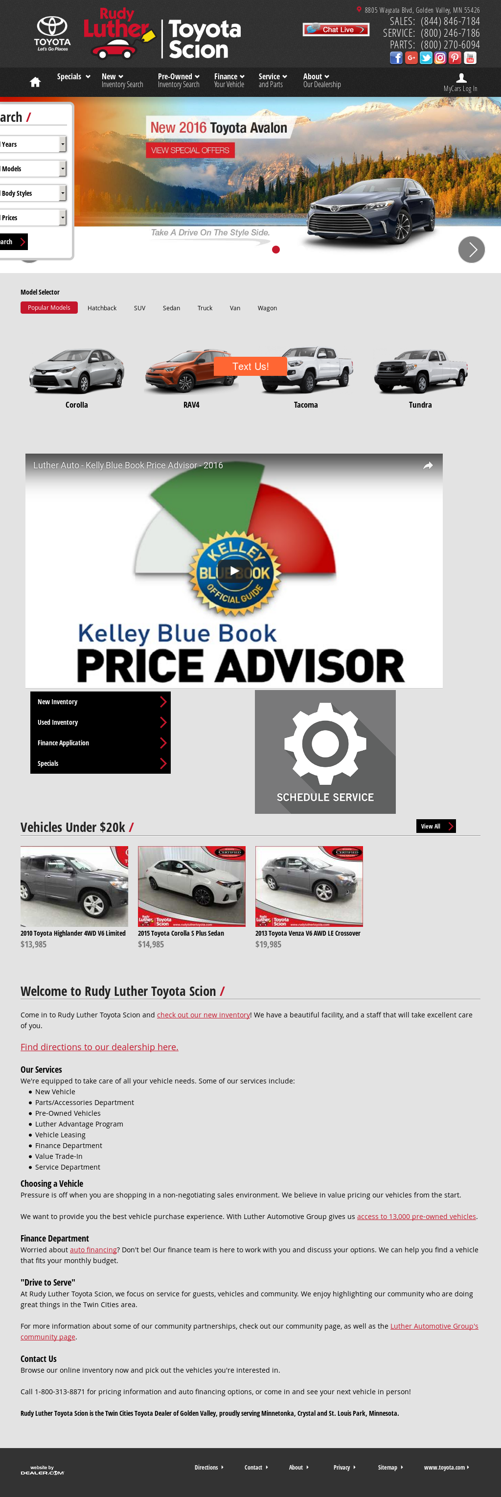 trusted golden inventory rudy toyota near autouplinktech luther dealers find valley com dealer url mn carsoup