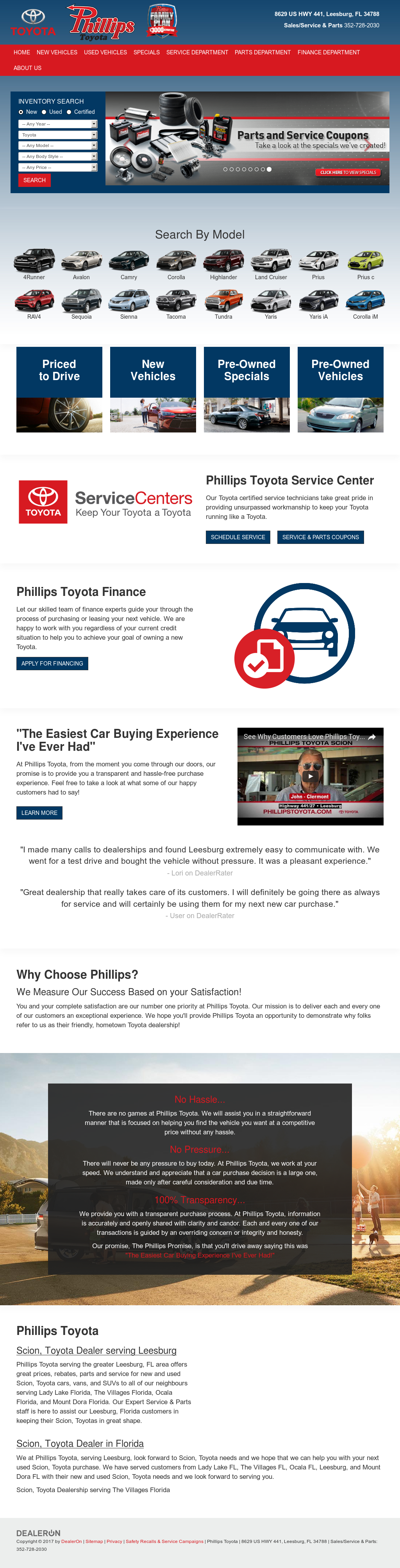 Phillips Toyota petitors Revenue and Employees Owler pany