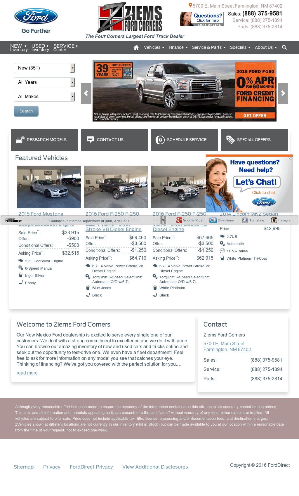 Ziems Ford Farmington New Mexico >> Ziems Ford Corners Competitors Revenue And Employees