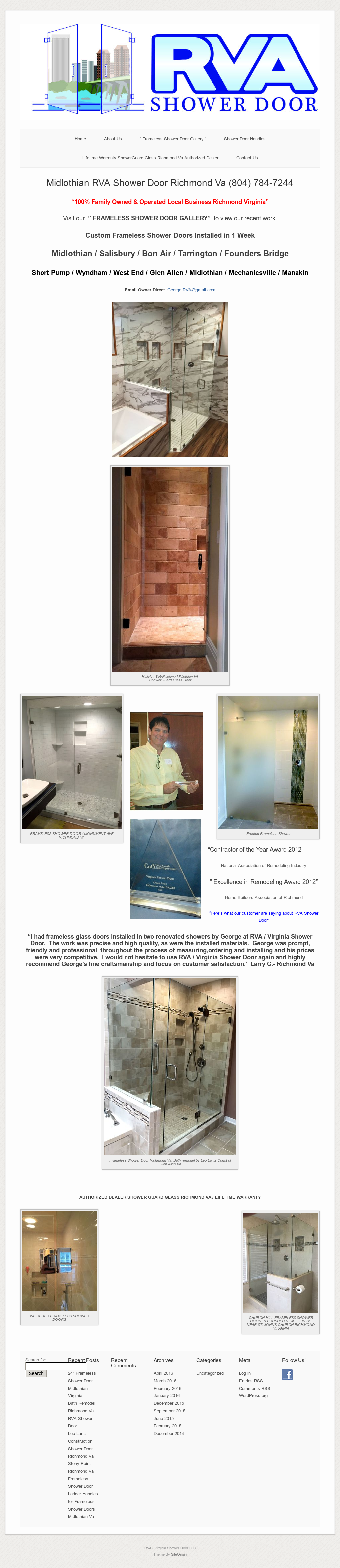 Richmondshowerdoorva Competitors Revenue And Employees Owler - Bathroom remodeling midlothian va
