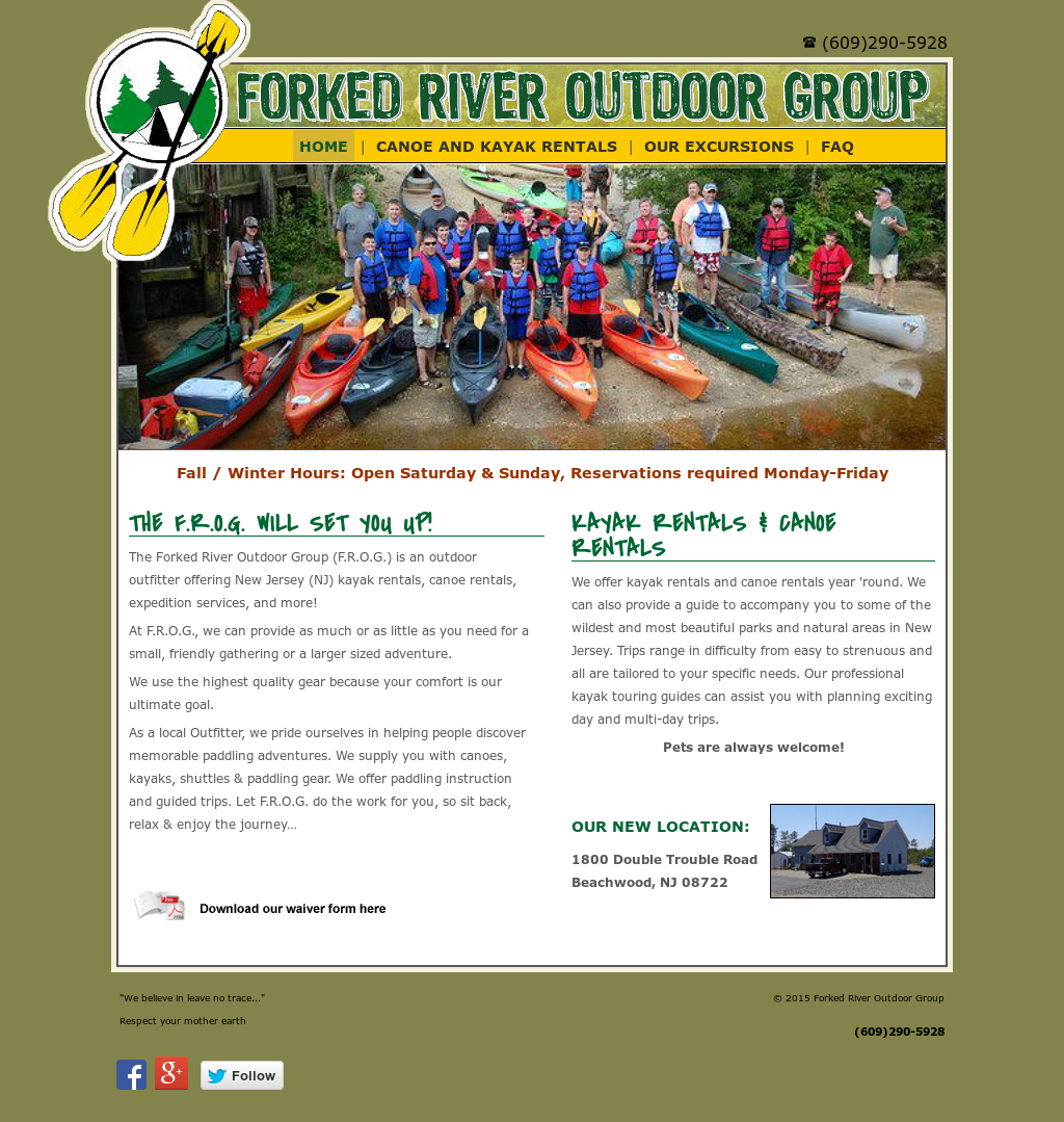 Forked River Outdoor Group Compeors