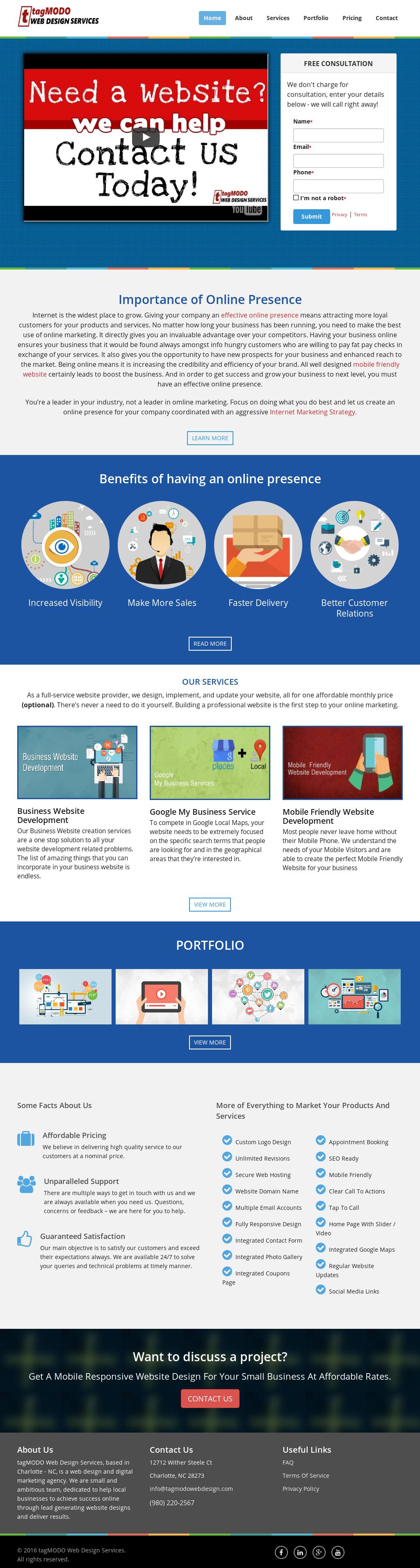 Tagmodo Web Design Services Competitors, Revenue and
