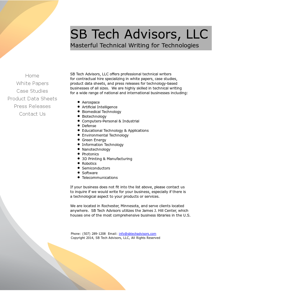 Sb Tech Advisors Competitors, Revenue and Employees - Owler Company