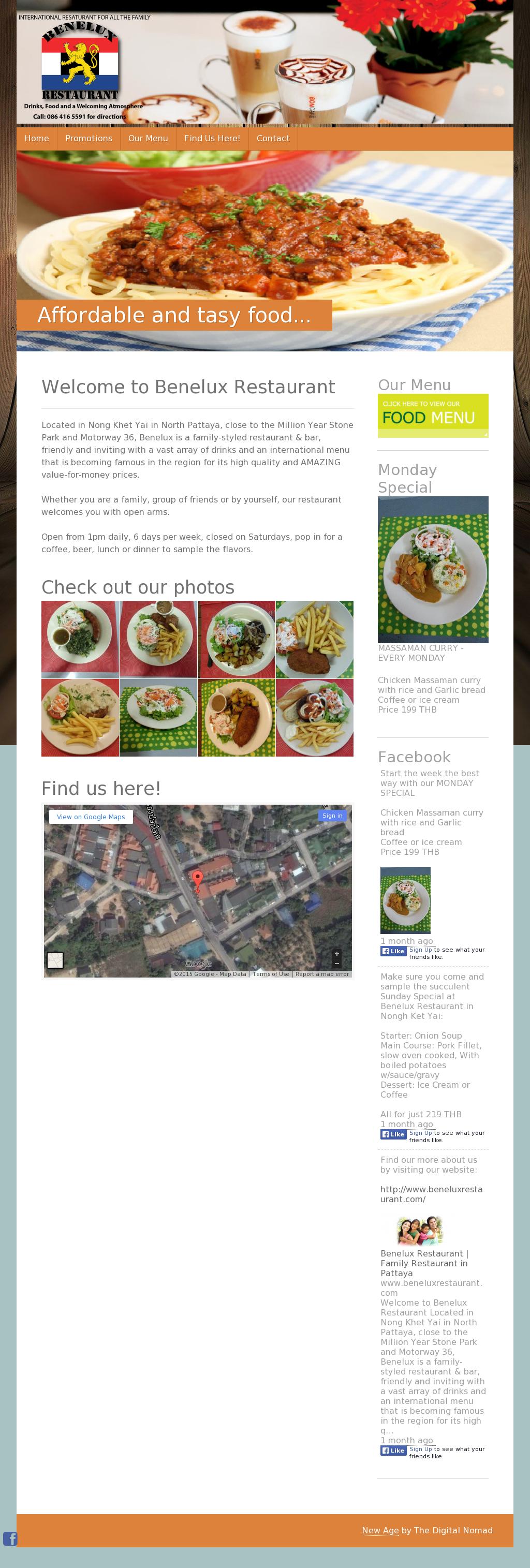 Benelux Restaurant Pattaya Competitors, Revenue and