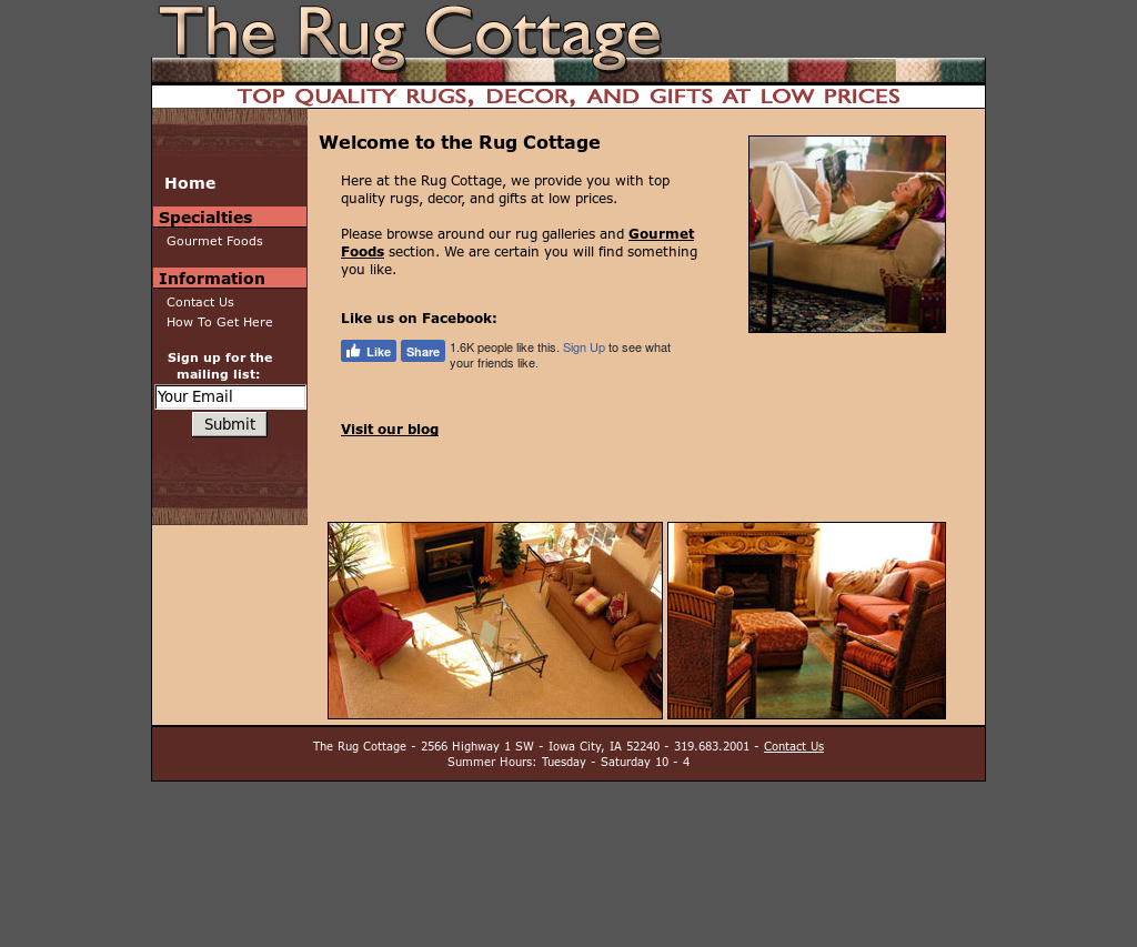 Rug Cottage Barntiques Compeors