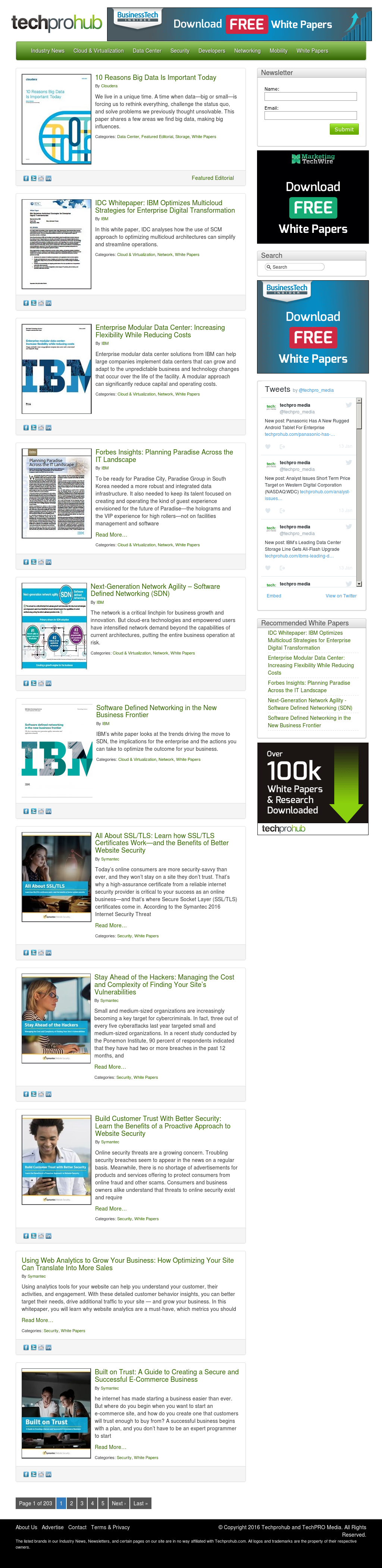 Techprohub And Techpro Media Competitors, Revenue and
