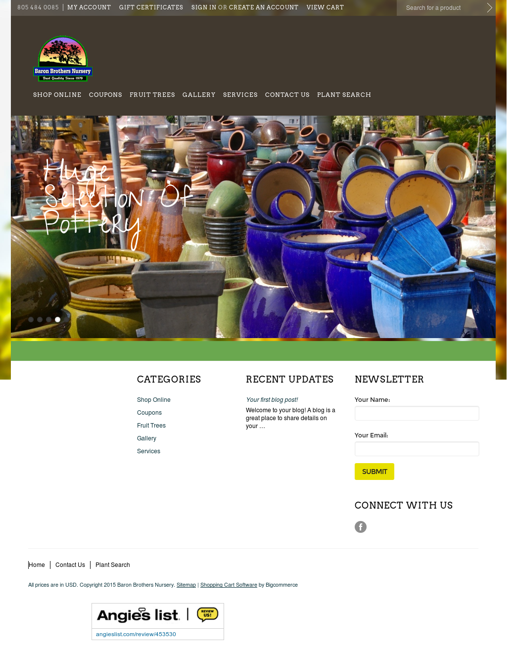 Baron Brothers Nursery Compeors Revenue And Employees Owler Company Profile