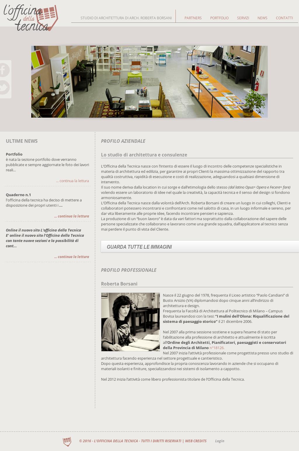 Studio Architettura Paesaggio Milano l'officina della tecnica competitors, revenue and employees