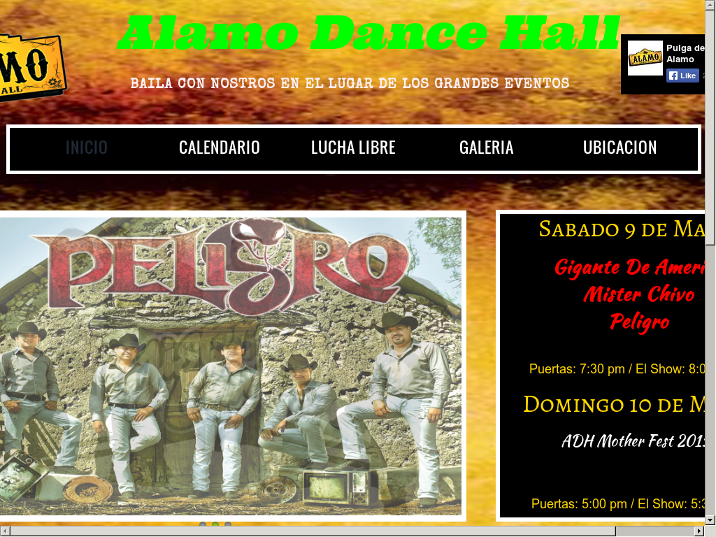 alamo dance hall pulga de alamo competitors revenue and employees