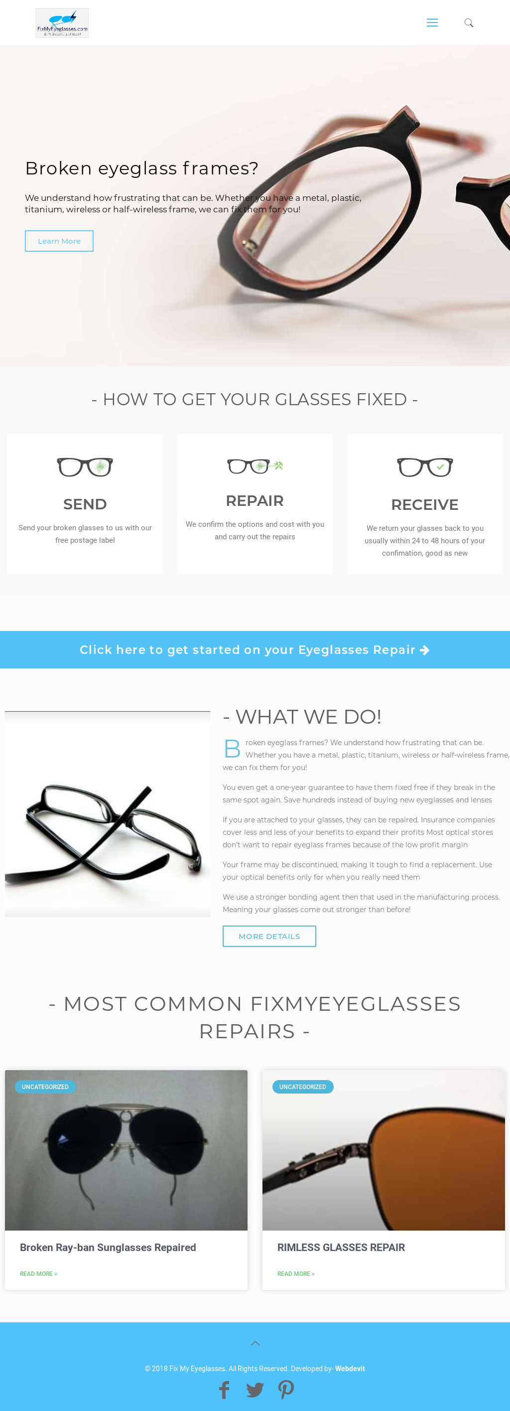 Owler Reports - Fix My Eyeglassess Blog Barton Perreira Broken ...