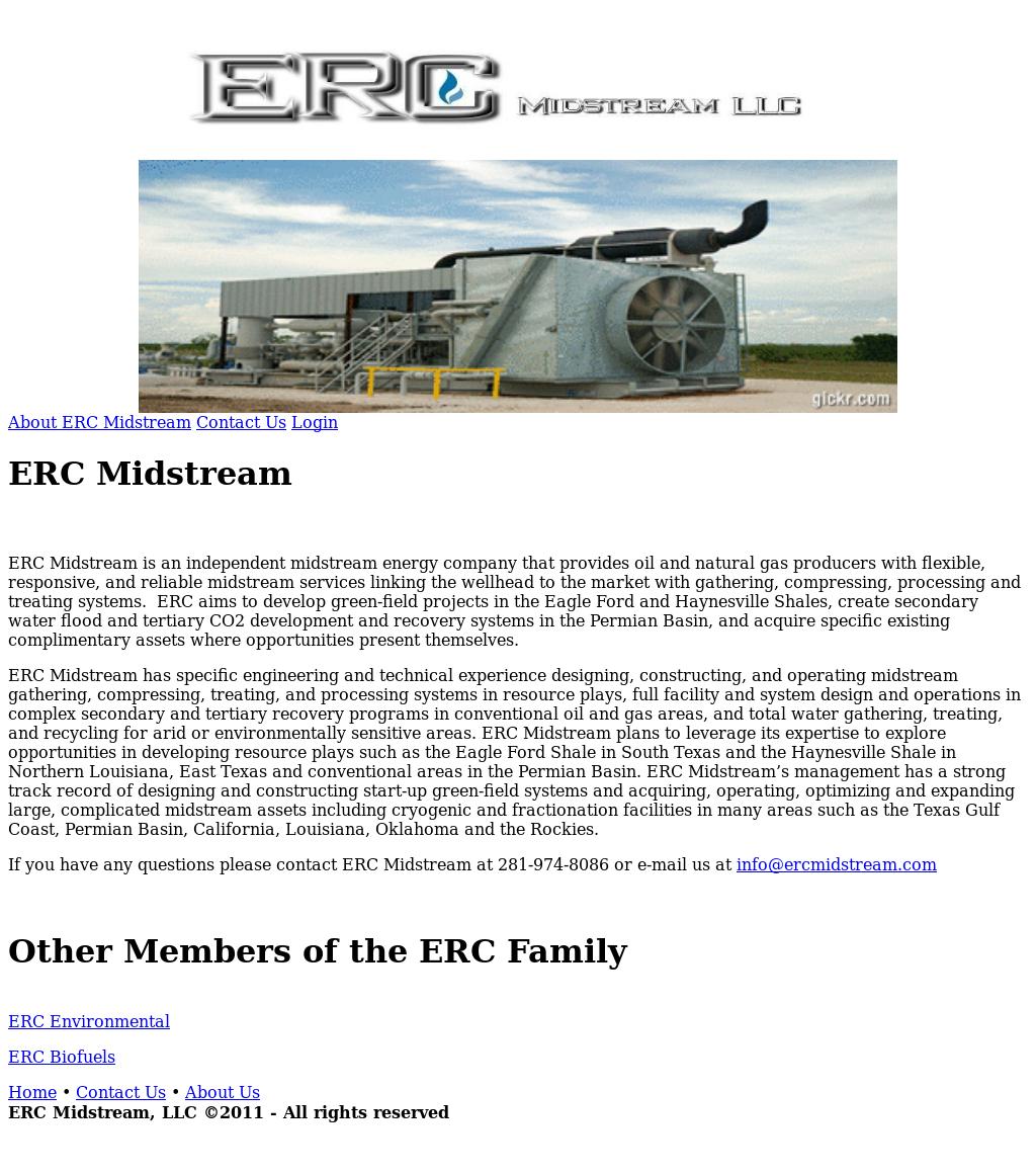 Erc Midstream Competitors, Revenue and Employees - Owler Company Profile