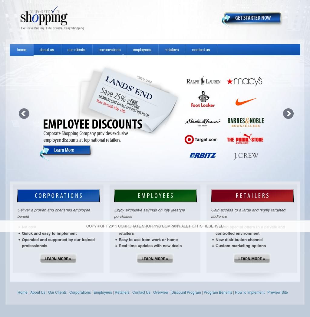 Corporate Shopping Company Competitors, Revenue and