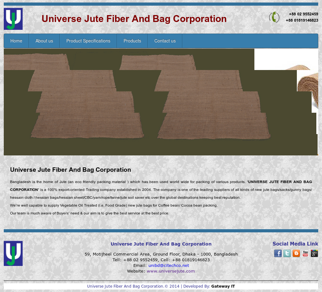 Universe Jute Fiber And Bag Competitors, Revenue and
