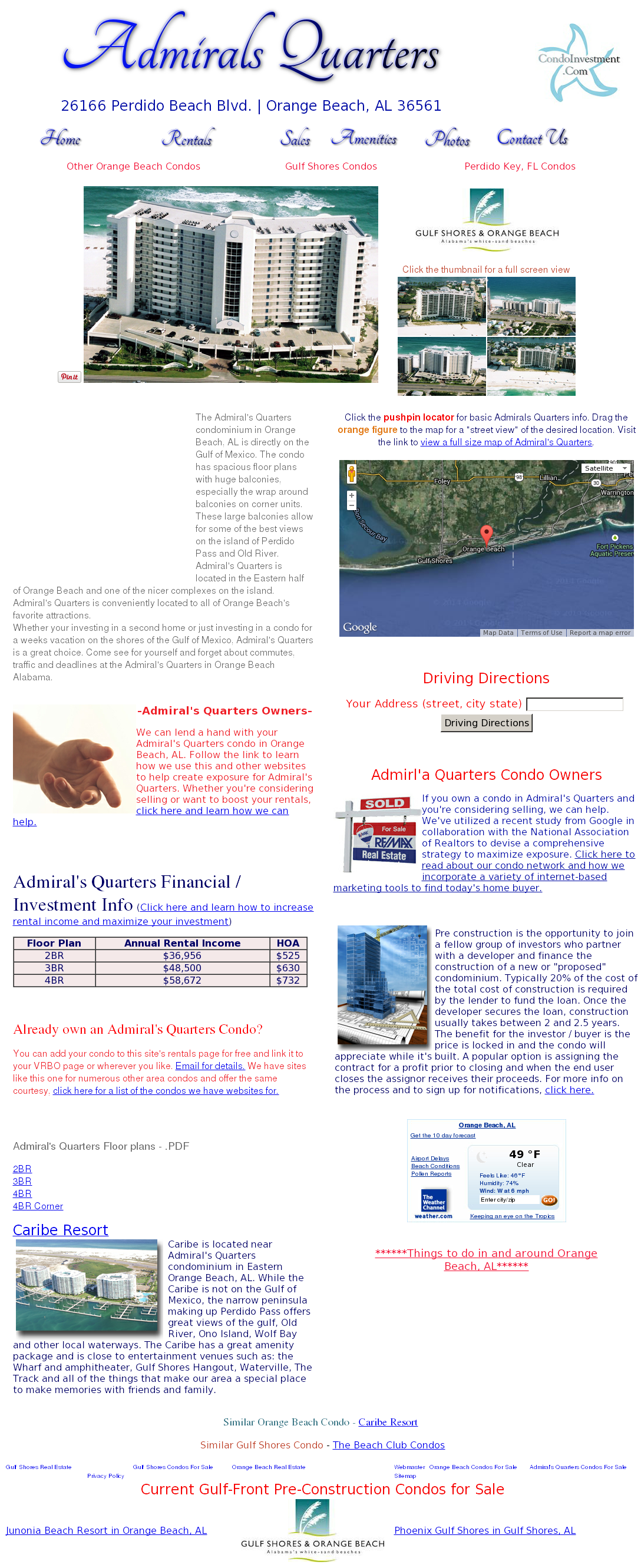Admiral S Quarters Condo Orange Beach Al Compeors Revenue And Employees Owler Company Profile