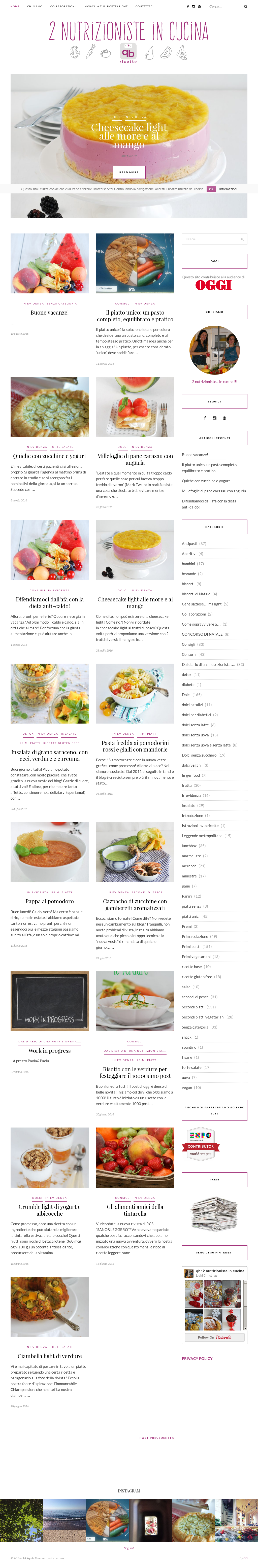 Cosa Cucinare Ad Agosto qb: 2 nutrizioniste in cucina competitors, revenue and