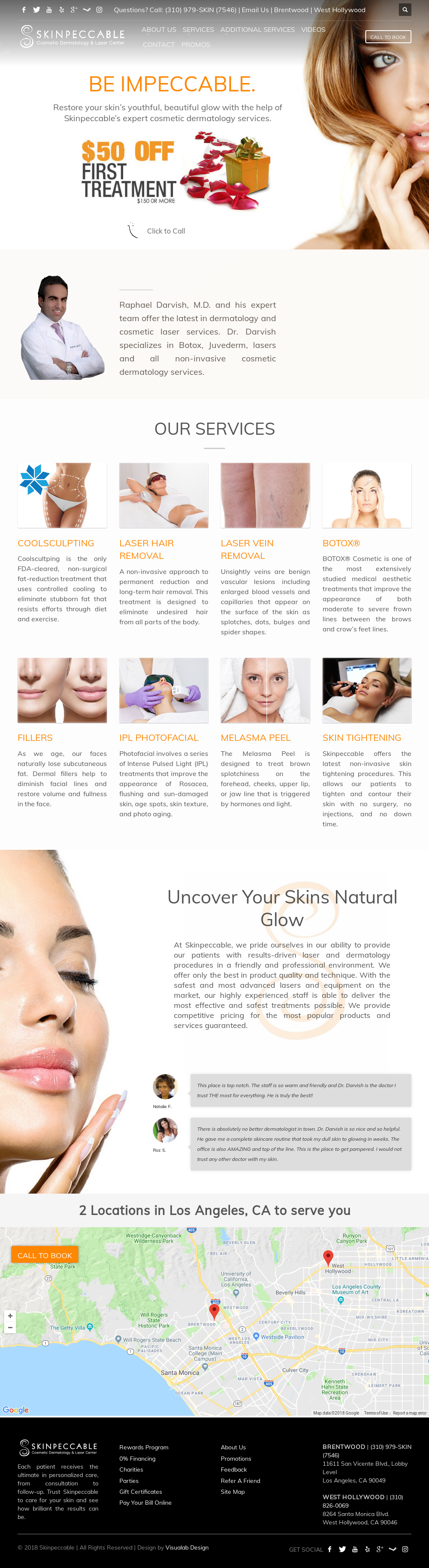 Skinpeccable, Dermatology & Cosmetic Laser Center