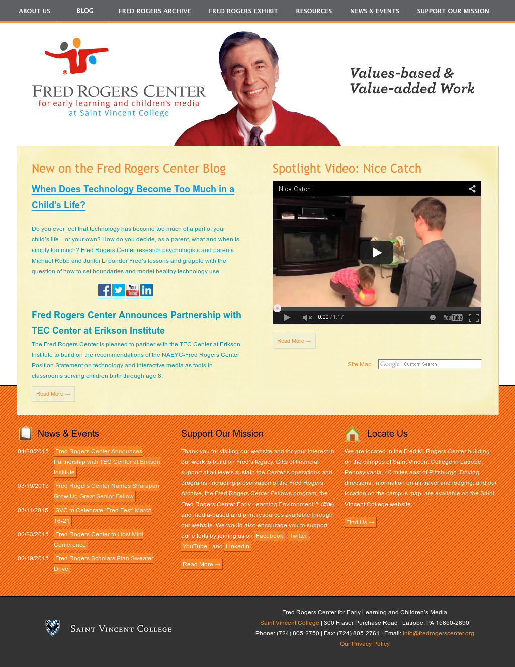 Fred Rogers Center Ele Competitors Revenue And Employees Owler Company Profile