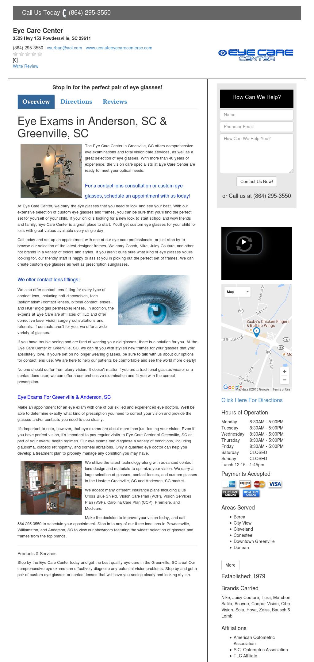 97fce55b8624 Eyeglassesgreenvillesc Competitors