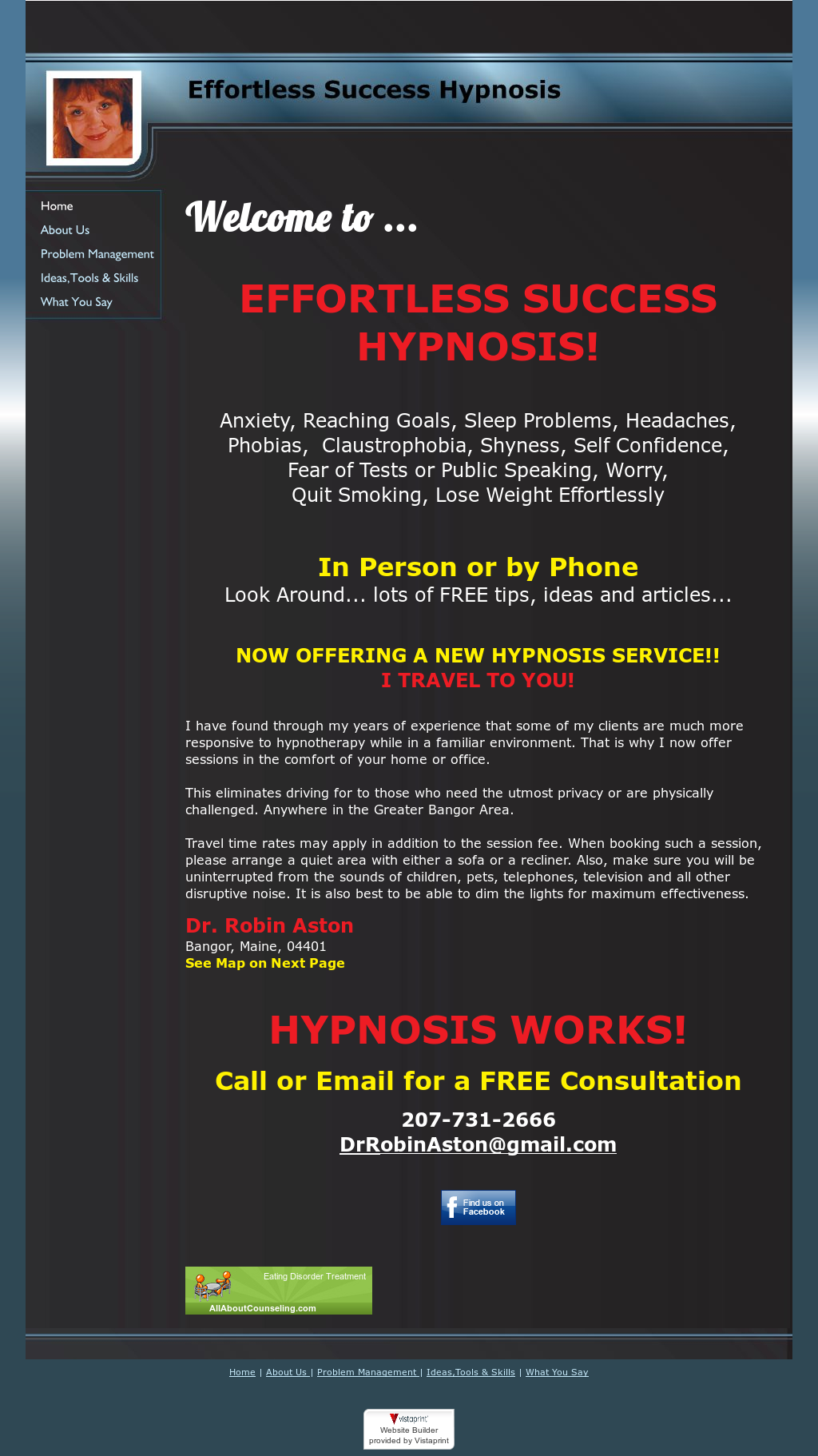 Robin Aston Hypnosis Competitors, Revenue and Employees - Owler