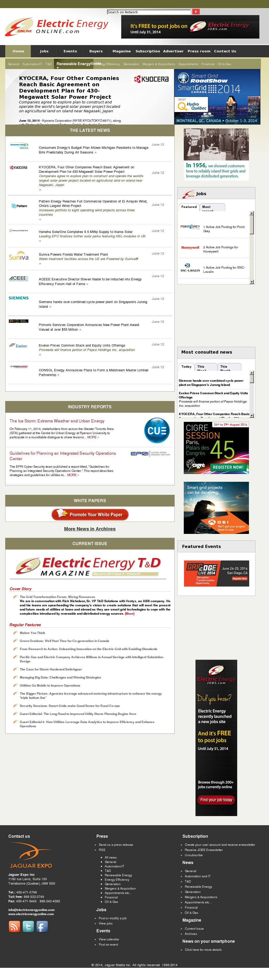 Electric Energy Online Competitors, Revenue and Employees - Owler