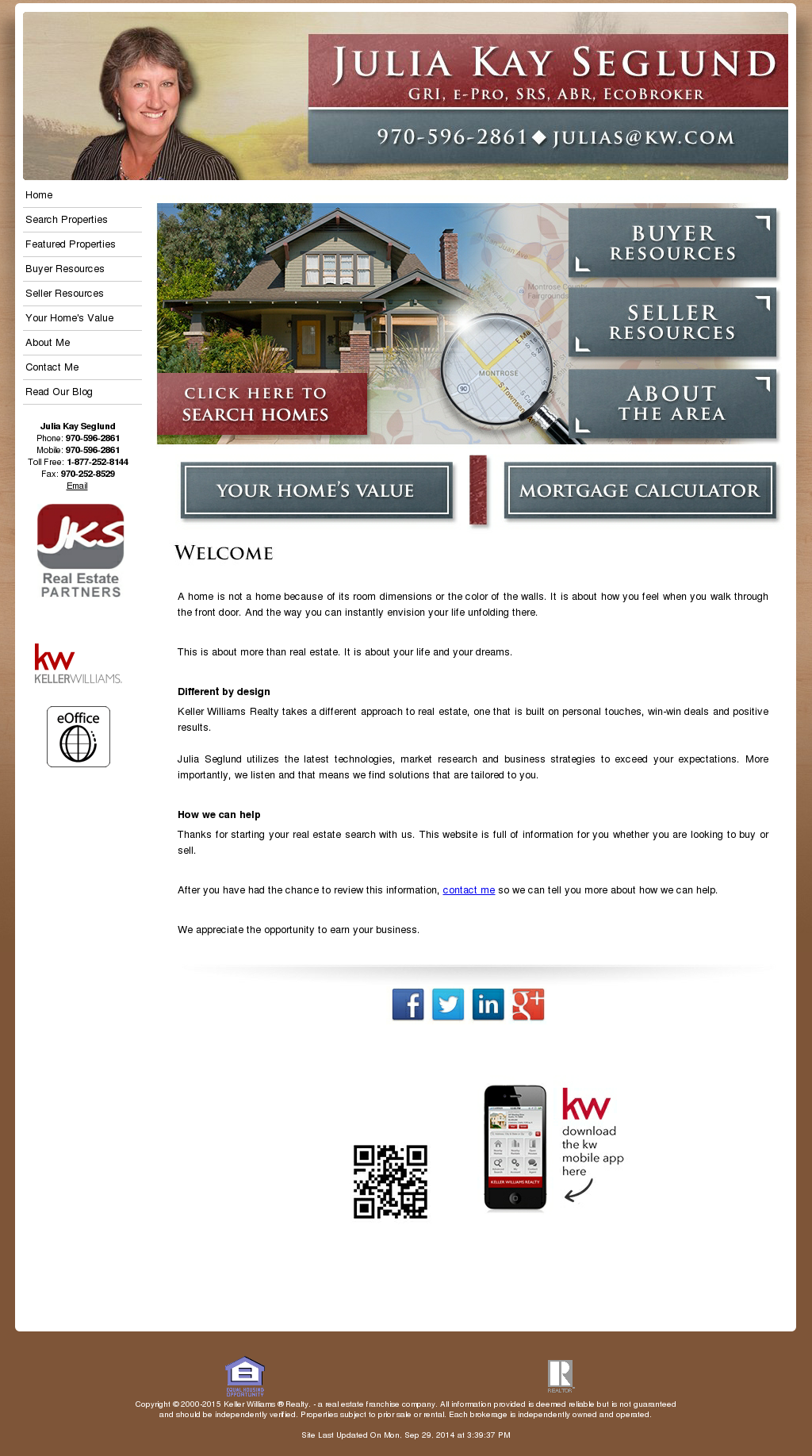 Jks Real Estate Partners At Keller Williams Colorado West