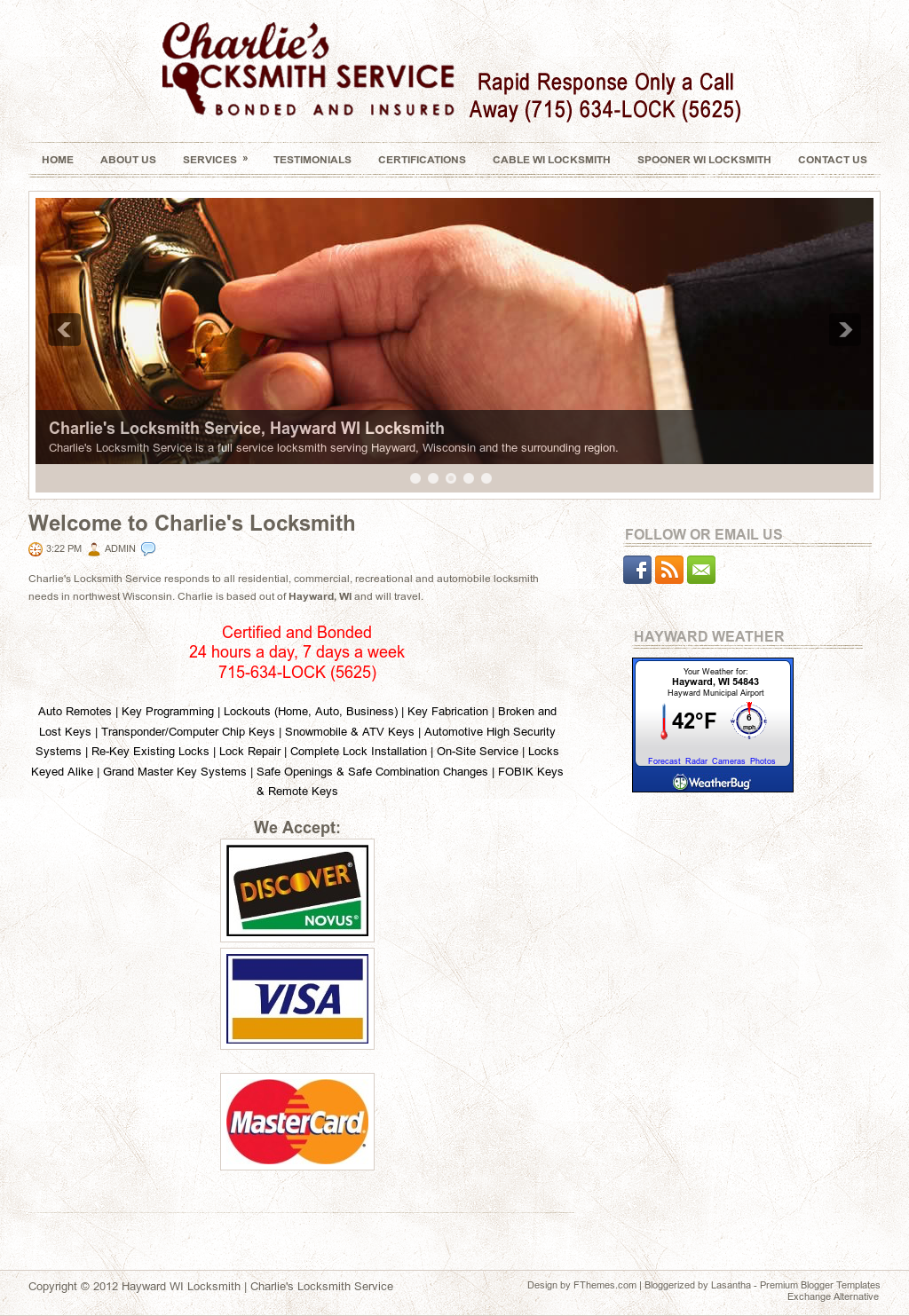 Charlie's Locksmith Service Competitors, Revenue and Employees