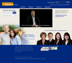 Hawthorn Bank website history