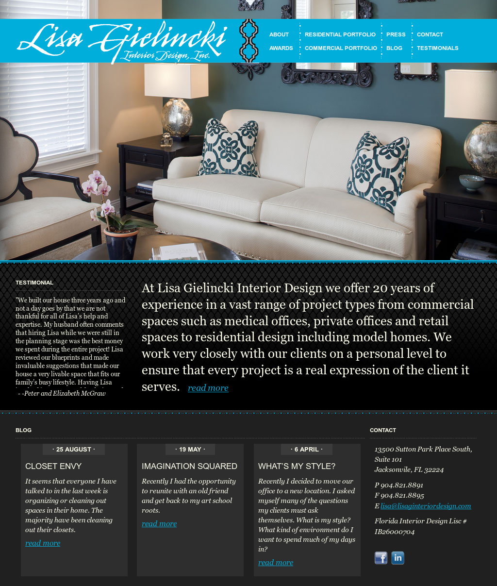 Lisa Gielincki Interior Design Competitors Revenue And Employees Owler Company Profile