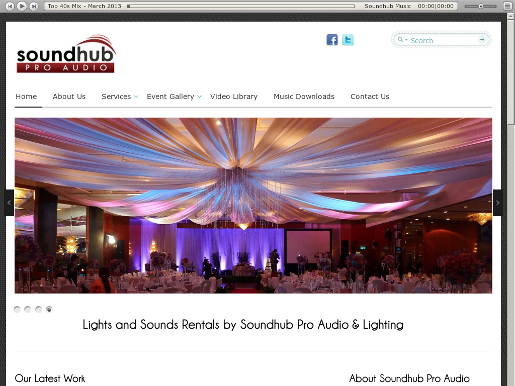 Soundhub Pro Audio u0026 Lighting Services website history  sc 1 st  Owler & Soundhub Pro Audio u0026 Lighting Services Competitors Revenue and ...