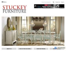Stuckey Furnitureu0027s Website Screenshot On Sep 2017