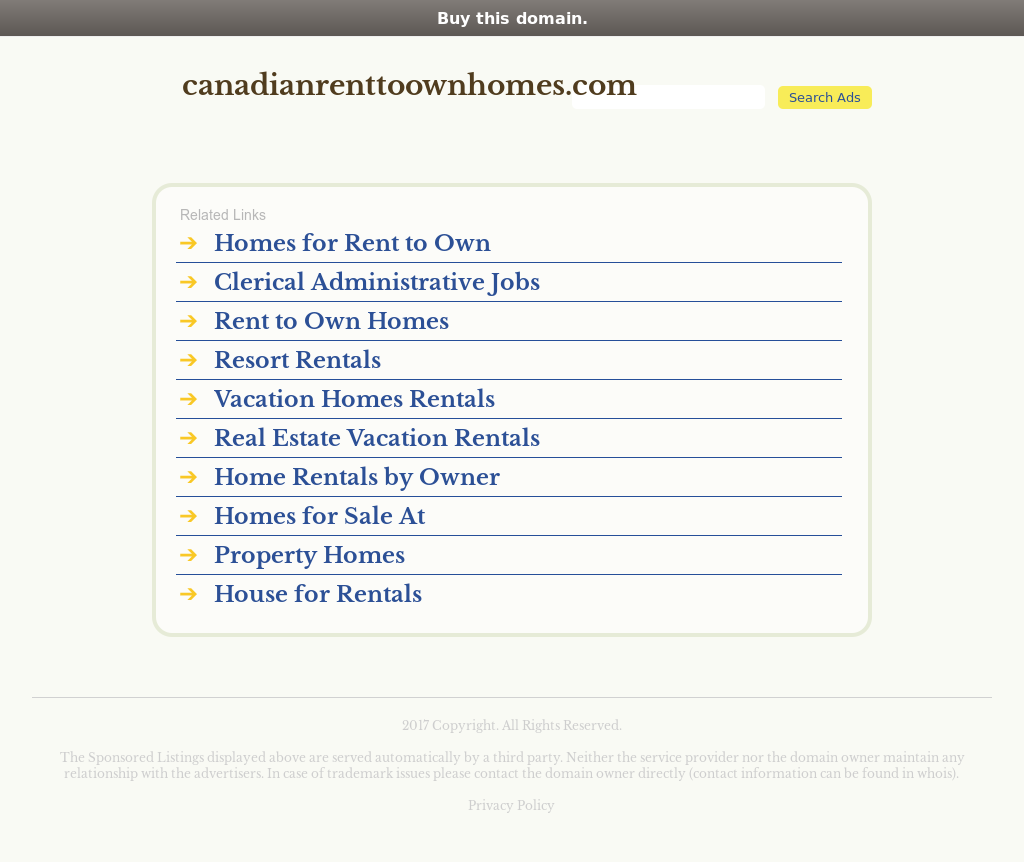 Canadian Rent To Own Homes Competitors, Revenue and Employees ...